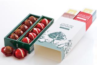 カラー芋ボンボン2本箱 王者のキャラメル エレガント・ローズ